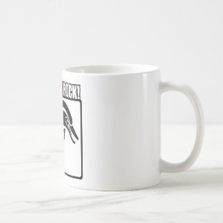 ¡Roca de los delfínes! Taza De Café