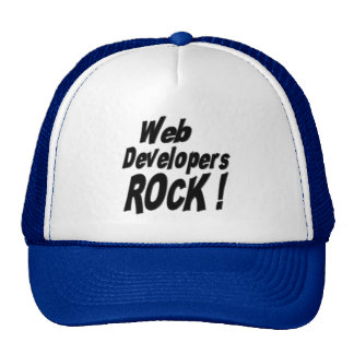 ¡Roca de los desarrolladores de Web! Gorra
