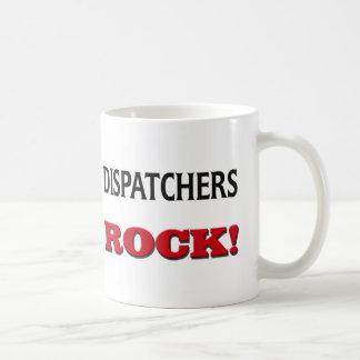 Roca de los despachadores taza de café