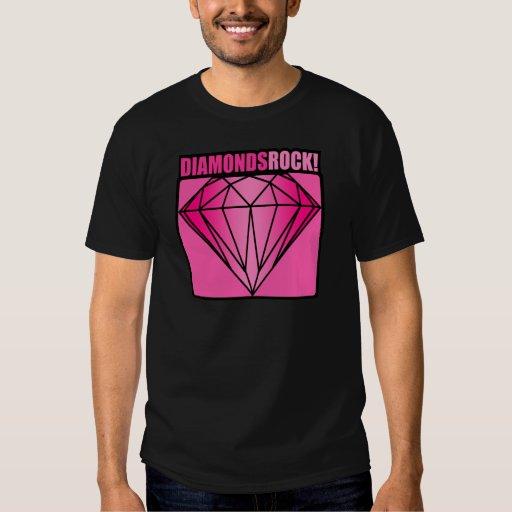 ¡Roca de los diamantes! Playeras