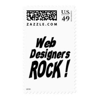 ¡Roca de los diseñadores del Web! Sello