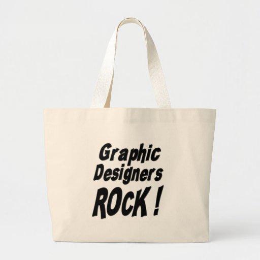¡Roca de los diseñadores gráficos! La bolsa de