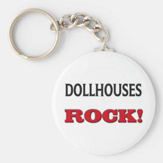 Roca de los Dollhouses Llaveros Personalizados