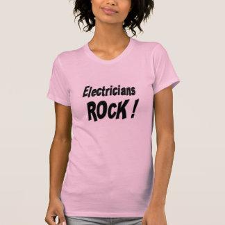 ¡Roca de los electricistas Camiseta
