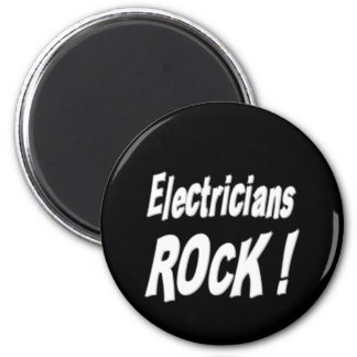 ¡Roca de los electricistas Imán