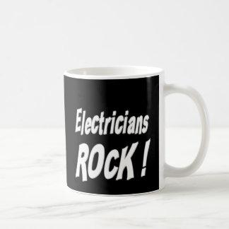 ¡Roca de los electricistas! Taza