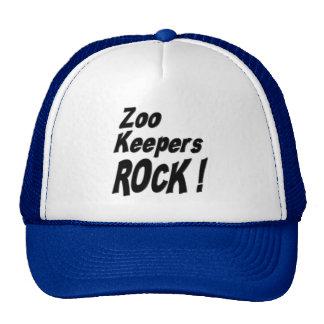 ¡Roca de los encargados de parque zoológico! Gorra