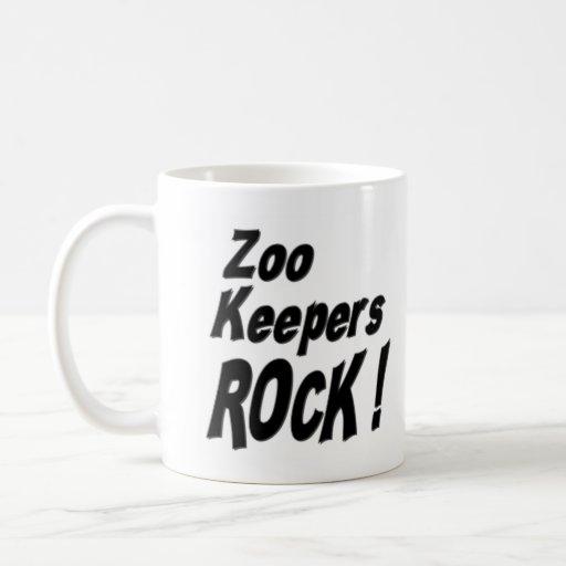 ¡Roca de los encargados de parque zoológico! Taza