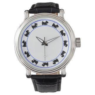 Roca de los escoceses alrededor relojes de pulsera