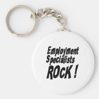 ¡Roca de los especialistas del empleo! Llavero