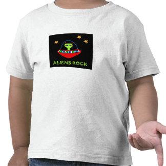 ¡roca de los extranjeros camisetas
