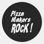 ¡Roca de los fabricantes de la pizza! Pegatina
