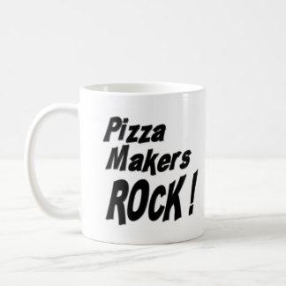 ¡Roca de los fabricantes de la pizza! Taza