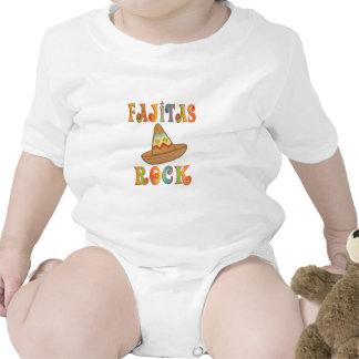 Roca de los Fajitas Trajes De Bebé