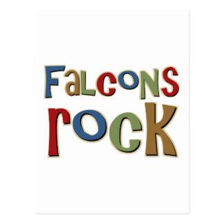 Roca de los Falcons Tarjeta Postal