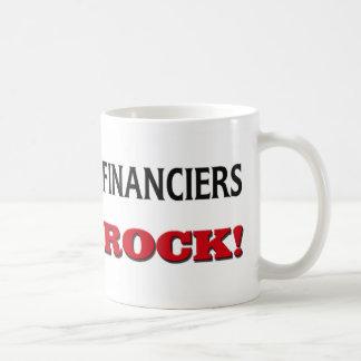 Roca de los financieros taza
