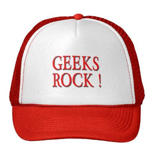 ¡Roca de los frikis!  Rojo Gorra