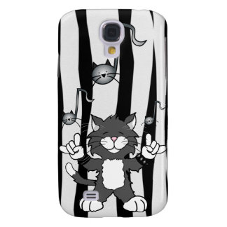 Roca de los gatos caja de la mota del iPhone 3