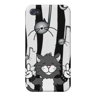 Roca de los gatos caso del iPhone 4 iPhone 4 Coberturas