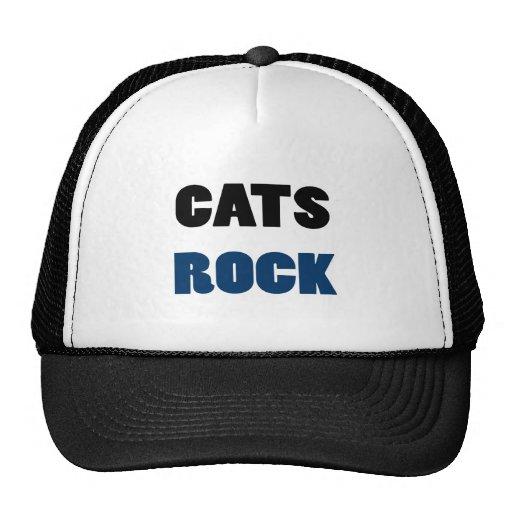 Roca de los gatos gorro de camionero
