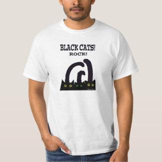 Roca de los gatos negros remeras