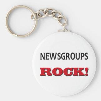 Roca de los groupes informativos llavero redondo tipo pin