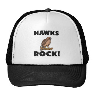 Roca de los halcones gorros