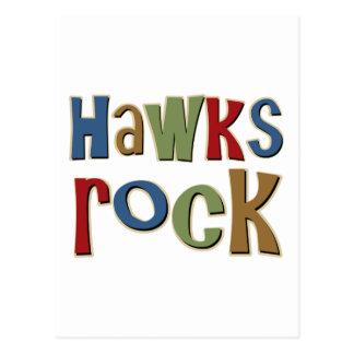 Roca de los halcones postal