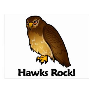 ¡Roca de los halcones! Tarjeta Postal