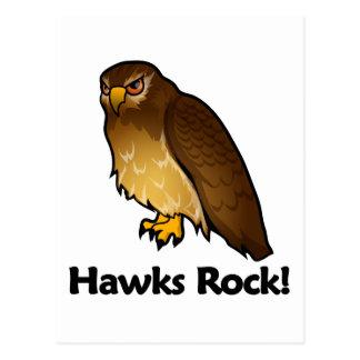 ¡Roca de los halcones! Tarjetas Postales