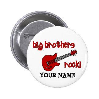 ¡Roca de los hermanos mayores con la guitarra Pin