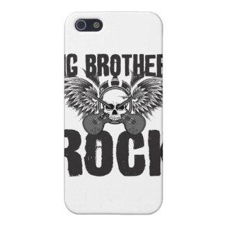 Roca de los hermanos mayores iPhone 5 protectores