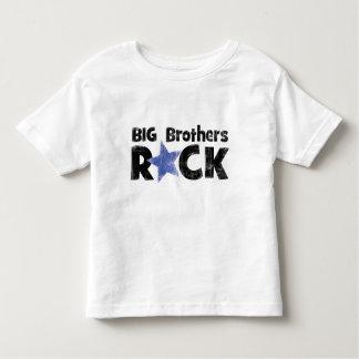 Roca de los hermanos mayores playera de bebé