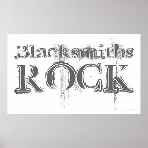 Roca de los herreros póster