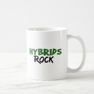 Roca de los híbridos taza de café