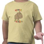Roca de los hipopótamos camisetas