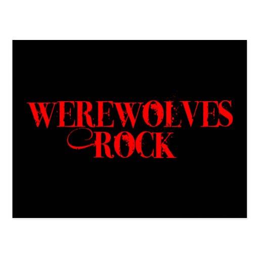 Roca de los hombres lobos postal