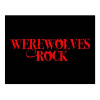 Roca de los hombres lobos postales