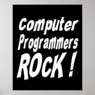 ¡Roca de los informáticos Impresión del poster