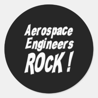 ¡Roca de los ingenieros aeroespaciales! Pegatina