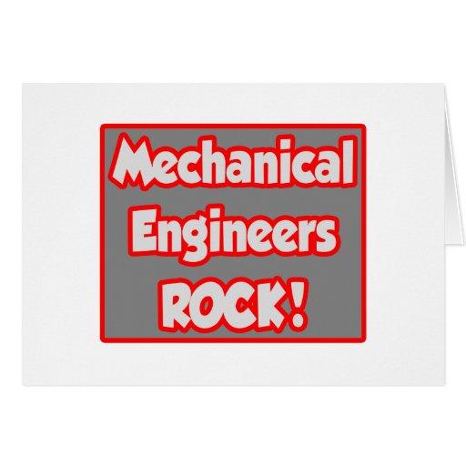 ¡Roca de los ingenieros industriales! Felicitacion