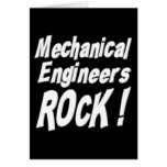 ¡Roca de los ingenieros industriales! Tarjeta de f