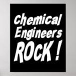 ¡Roca de los ingenieros químicos! Impresión del po