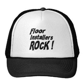 ¡Roca de los instaladores del piso! Gorra