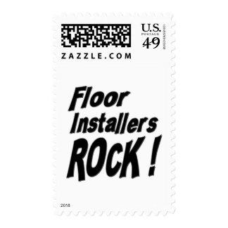 ¡Roca de los instaladores del piso! Sello