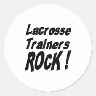 ¡Roca de los instructores de LaCrosse! Pegatina