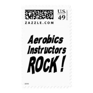 ¡Roca de los instructores de los aeróbicos! Sellos