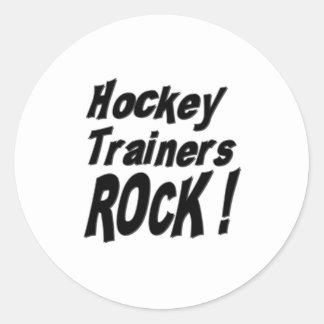 ¡Roca de los instructores del hockey! Pegatina