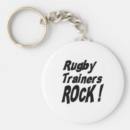 ¡Roca de los instructores del rugbi! Llavero