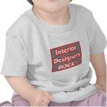 ¡Roca de los interioristas! Camiseta